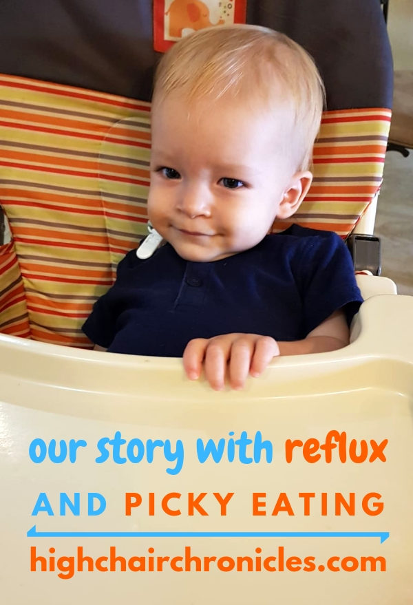 reflux and picky eating