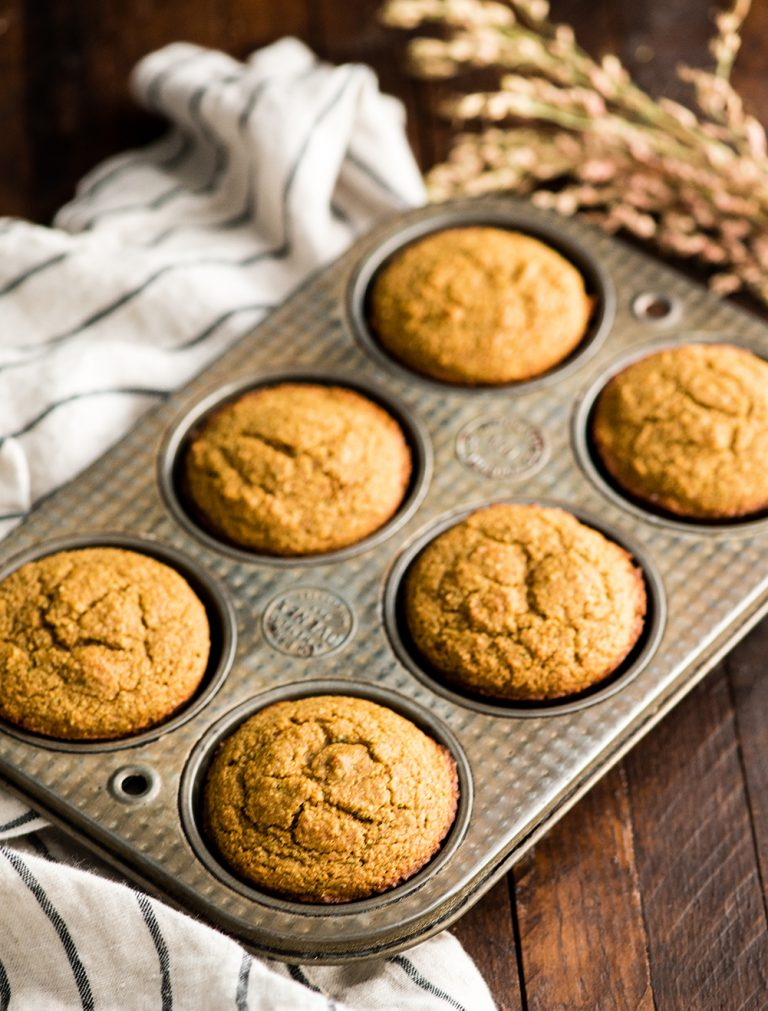 image of carrot zucchini muffins