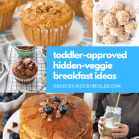 11 Healthy Toddler-Friendly Breakfast Recipes with Hidden Vegetables