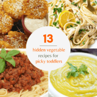 Hidden Vegetable Recipes for Toddlers