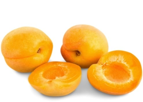 low sugar fruit - apricot