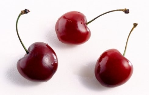 low sugar fruit - cherries