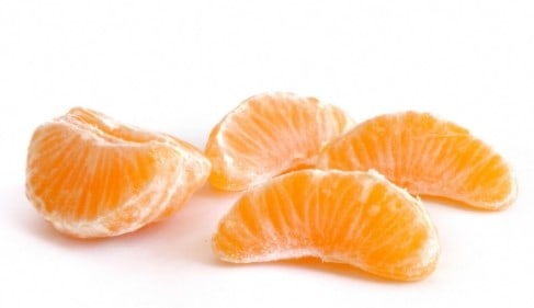 low sugar fruit - clementine