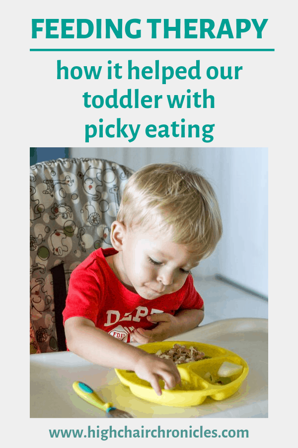 graphic of feeding therapy for picky eaters