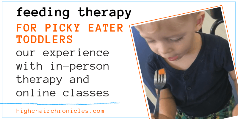 feeding therapy for picky eater toddlers graphic