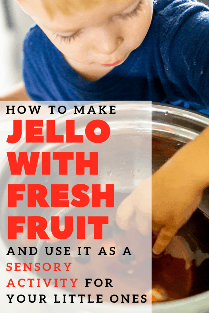 jello with fruit for picky eaters pinterest image