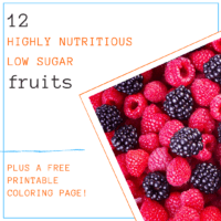 12 Highly Nutritious Low Sugar Fruits