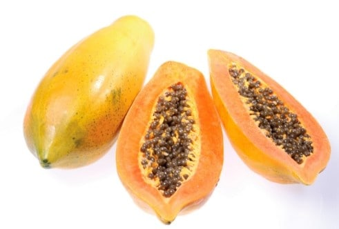 low sugar fruit - papaya