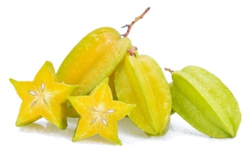 low sugar fruit - starfruit