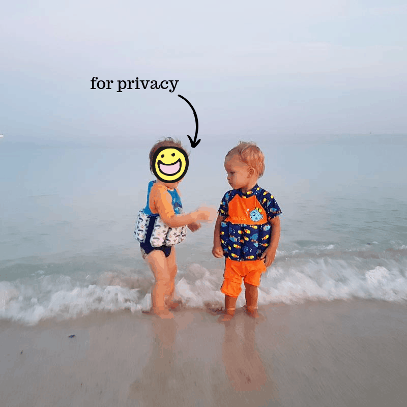 toddlers in swimsuits