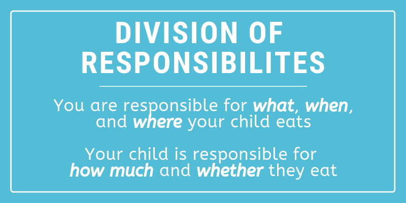 feeding division of responsibilities graphic