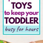 open ended toys for toddlers pin graphic