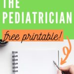 questions to ask a pediatrician during an interview pinterest graphic