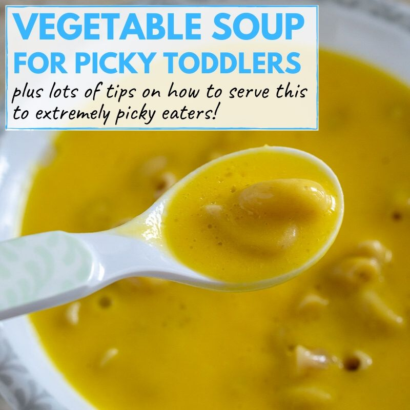 vegetable soup for toddlers graphic