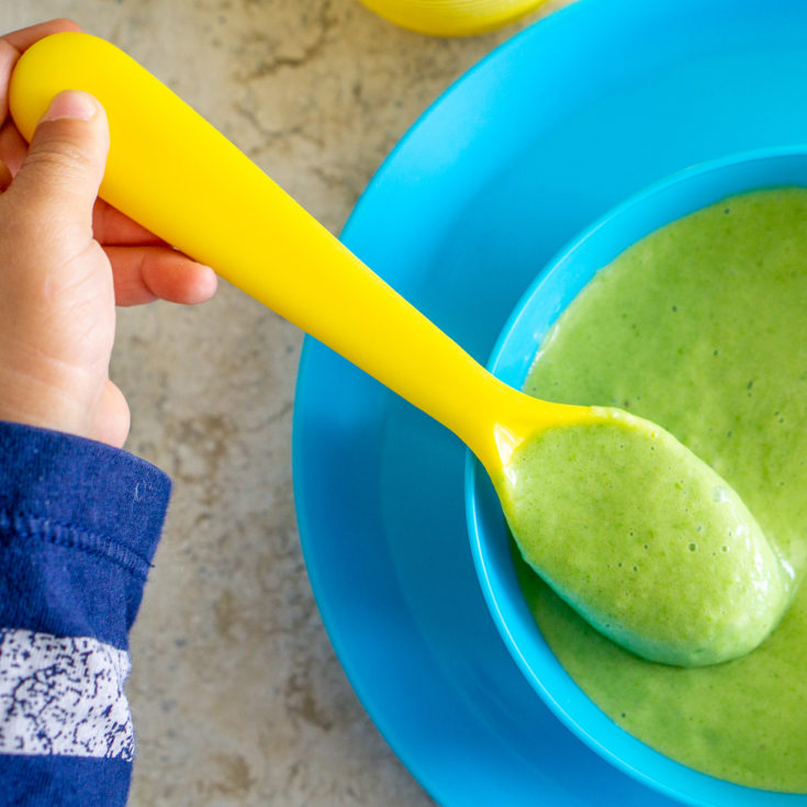 Baby Food with Spinach Recipe