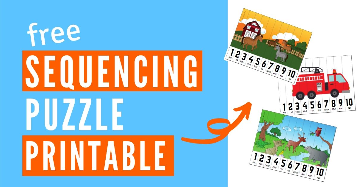 sequencing puzzle graphic