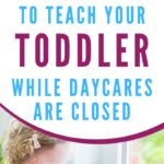 things to teach 3 year old graphic