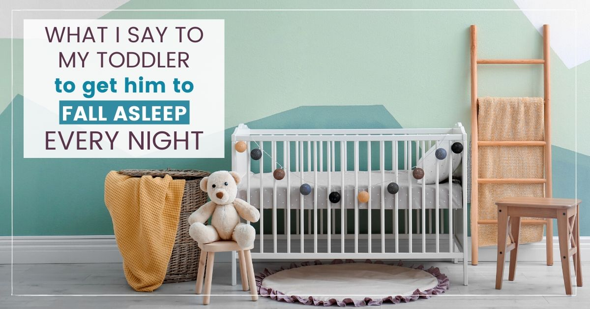 toddler fall asleep graphic