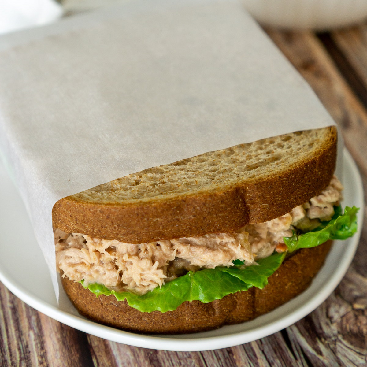 3 ingredient tuna salad sandwich