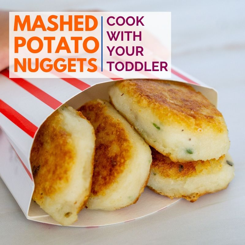 mashed potato nuggets graphic