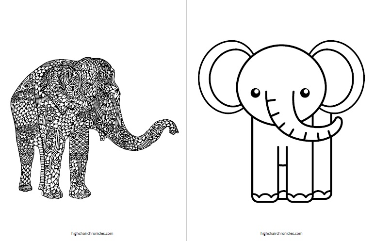 - Mommy And Me Printable Coloring Pages - High Chair Chronicles