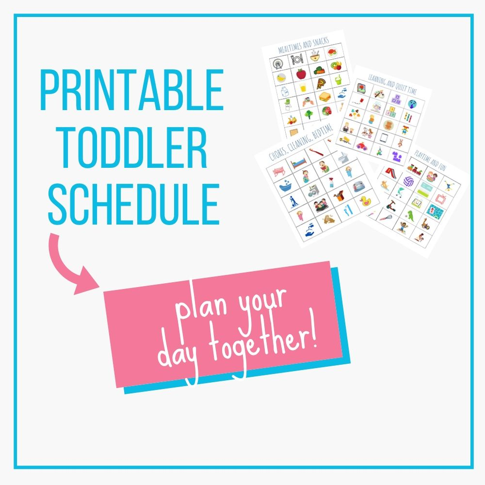 printable toddler schedule graphic