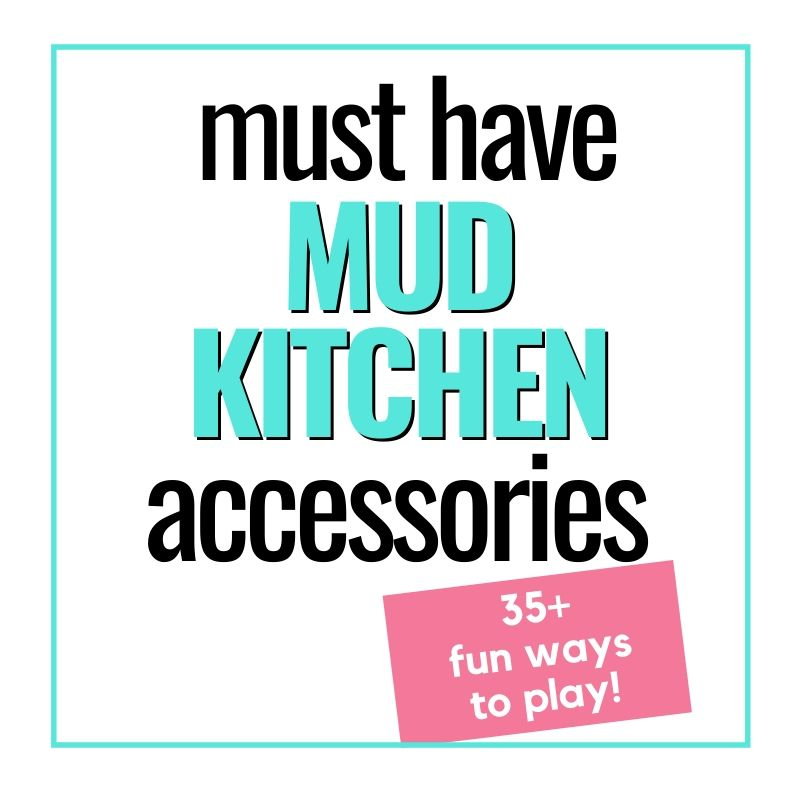 mud kitchen accessories graphic