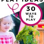 backyard mud kitchen play ideas graphic