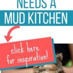mud kitchen ideas graphic