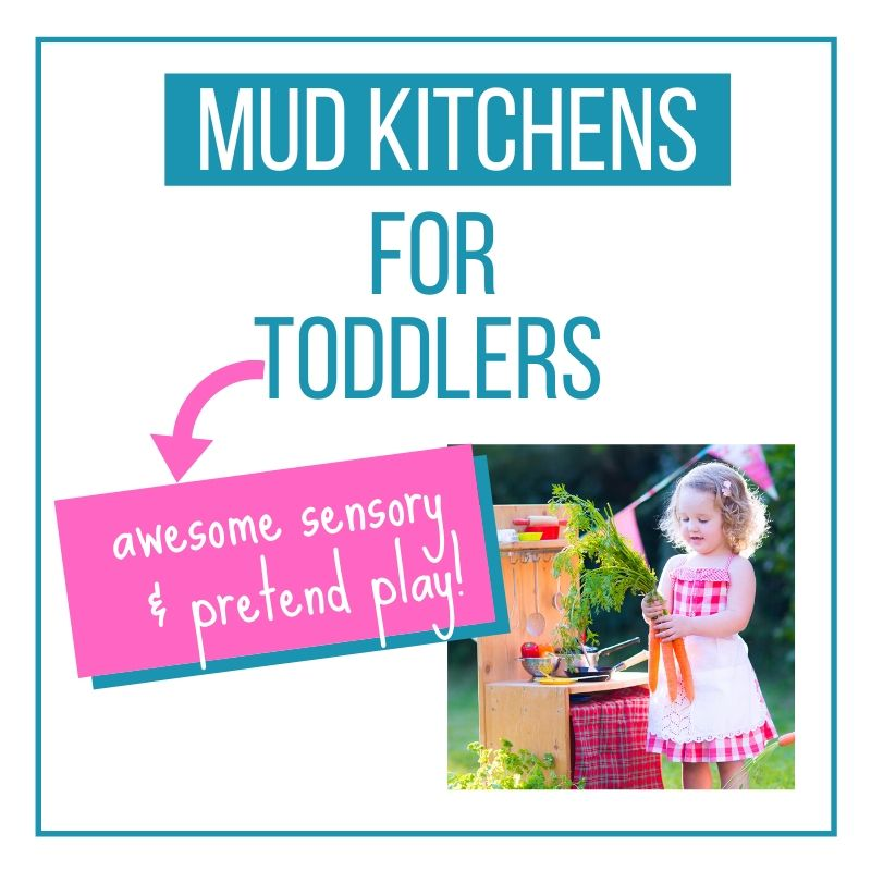 mud kitchen ideas graphic