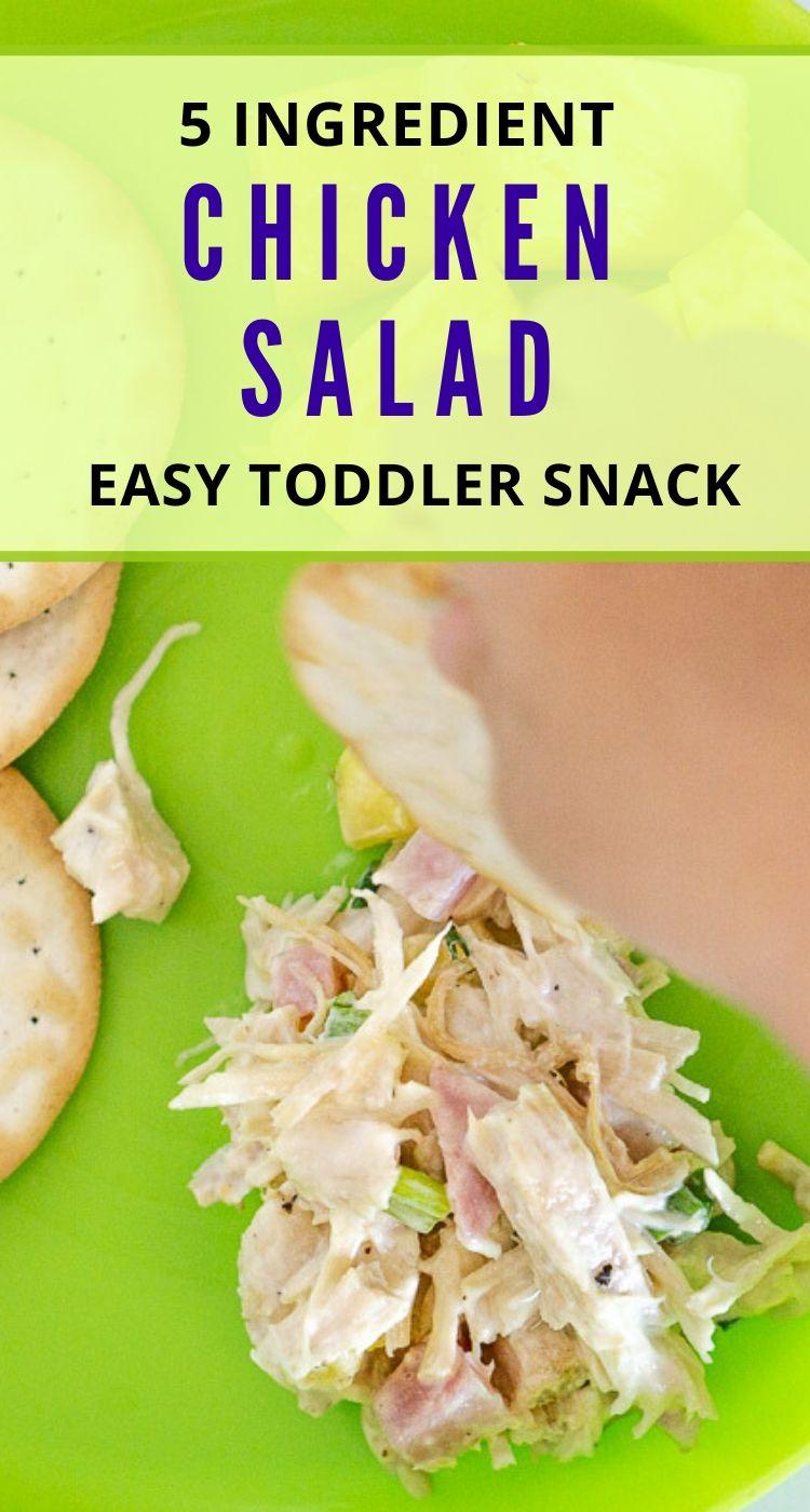 pinterest graphic for chicken salad