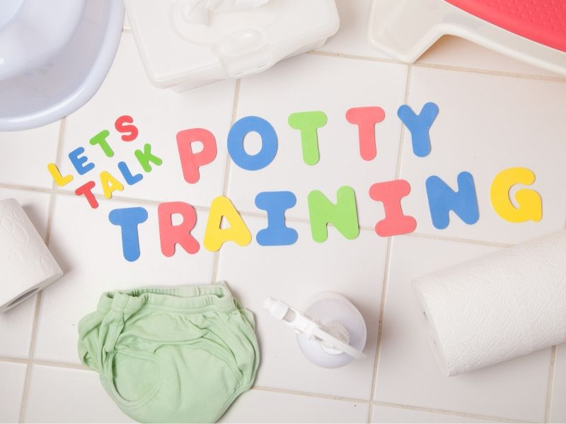 let's talk potty training graphic
