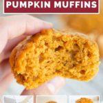 pinnaple image of pumpkin muffins