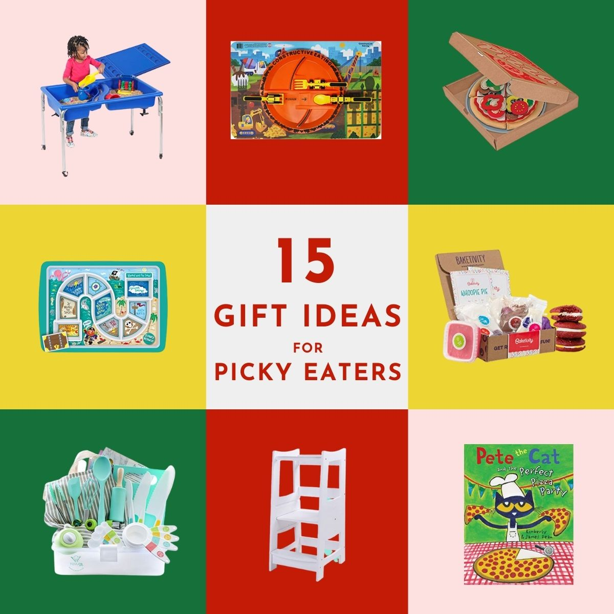 graphic of gift ideas for picky eaters